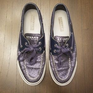 Sperry Top-Sider Navy Blue Glitter